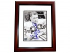 Ron Kramer Signed - Autographed Green Bay Packers 8x10 inch Photo MAHOGANY CUSTOM FRAME - Guaranteed to pass PSA or JSA