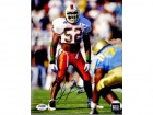 Ray Lewis Signed - Autographed Miami Hurricanes UM 8x10 inch Photo - PSA/DNA Certificate of Authenticity (COA)