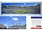 Ray Lewis Signed - Autographed Baltimore Ravens Stadium Panoramic Photo Print 13.5 x 39 inches long - PSA/DNA Certificate of Authenticity (COA)