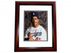 Raul Mondesi Signed - Autographed Los Angeles Dodgers 8x10 Photo MAHOGANY CUSTOM FRAME