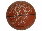 Dennis Rodman Signed Spalding I/O Basketball w/3-Inscriptions