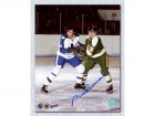 Bobby Rousseau Minnesota North Stars Signed 8X10 Photo
