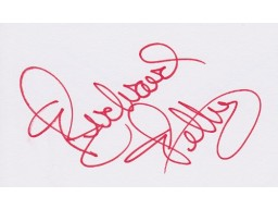 Richard Petty Signed - Autographed Racing 3x5 inch Index Card - Guaranteed to pass PSA or JSA