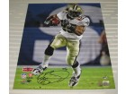 Reggie Bush Autographed Saints SB XLIV 16x20 Photo