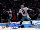Tony Romo Autographed Cowboys 8x10 Photo TD Celebration