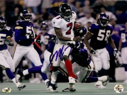 Michael Vick Signed Atlanta Falcons 8x10 Photo #9