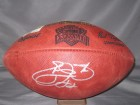 Emmitt Smith Autographed Super Bowl XXVII Football Cowboys