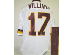 Doug Williams Autographed White Redskins Jersey