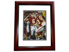 Ryan Succop Signed - Autographed Kansas City Chiefs 8x10 Photo MAHOGANY CUSTOM FRAME
