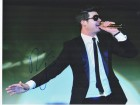 Robin Thicke Signed - Autographed Sexy Concert 11x14 inch Photo - Guaranteed to pass PSA or JSA