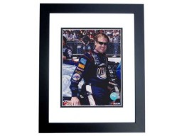 Rusty Wallace Unsigned 8x10 inch Racing Photo BLACK CUSTOM FRAME