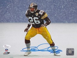 Rod Woodson Signed - Autographed Pittsburgh Steelers 8x10 inch Photo with JSA Certificate of Authenticity (COA)