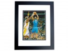 Rashard Lewis Signed - Autographed Orlando Magic 8x10 inch Photo BLACK CUSTOM FRAME - Guaranteed to pass PSA or JSA