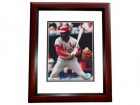 Reggie Smith Signed - Autographed St. Louis Cardinals 8x10 inch Photo MAHOGANY CUSTOM FRAME - Guaranteed to pass PSA or JSA - 7x All Star