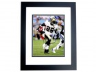 Reggie Bush Signed - Autographed New Orleans Saints 8x10 inch Photo BLACK CUSTOM FRAME - Guaranteed to pass PSA or JSA - Super Bowl XLIV Champion