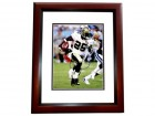 Reggie Bush Signed - Autographed New Orleans Saints 8x10 inch Photo MAHOGANY CUSTOM FRAME - Guaranteed to pass PSA or JSA - Super Bowl XLIV Champion