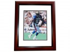 Ricky Jackson Signed - Autographed New Orleans Saints 8x10 inch Photo MAHOGANY CUSTOM FRAME - Guaranteed to pass PSA or JSA with HALL OF FAME Inscription - Rickey Jackson