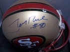 Jerry Rice (San Francisco 49ers) Signed Authentic Riddell San Francisco 49ers Helmet