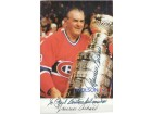 Maurice Richard Signed 4x6 Promo Photo (Personalized - To Neil)