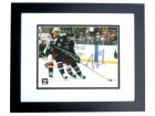 Rick Nash Autographed Columbus Blue Jackets 8x10 Photo BLACK CUSTOM FRAME