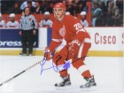Luc Robitaille (Detroit Red Wings) Signed 8x10 Photo