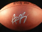 Aaron Rodgers Signed Official Game Football
