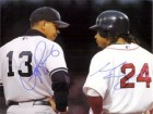 Alex / Ramirez, Manny Rodriguez Signed 8x10 By Alex Rdriguez and Manny Ramirez