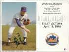 Nolan Ryan (New York Mets) Signed 8x10 (Promo)