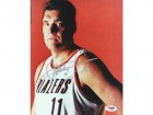 Arvydas Sabonis Autographed 8x10 Photo Trail Blazers PSA/DNA #S28361