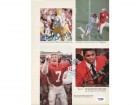 John Elway, Herschel Walker, Jamie Williams & Garry James Autographed Magazine Page Photo PSA/DNA #S43156