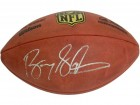 Barry Sanders Signed Wilson Duke Official NFL Game Football