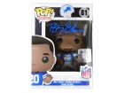 Barry Sanders Signed Detroit Lions NFL Legends Funko Pop Doll