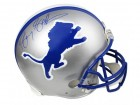 Barry Sanders Signed Lions Riddell Throwback Authentic Proline Helmet