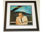 Steve Allen Plays Signed - Autographed LP Record Album Cover BLACK CUSTOM FRAME - Guaranteed to pass PSA or JSA - Deceased 2000