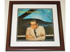 Steve Allen Plays Signed - Autographed LP Record Album Cover MAHOGANY CUSTOM FRAME - Guaranteed to pass PSA or JSA - Deceased 2000