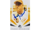 Sparky Anderson Signed - Autographed Cincinnati Reds 4x6 Photo - Guaranteed to pass PSA or JSA - Deceased Hall of Famer - 3x World Series Champion