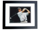 Stuart Appleby Signed - Autographed Golf 8x10 inch Photo BLACK CUSTOM FRAME - Guaranteed to pass PSA or JSA