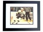 Sidney Crosby Signed - Autographed Pittsburgh Penguins 11x14 inch Photo BLACK CUSTOM FRAME - Guaranteed to pass PSA or JSA