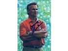 Don Shula Signed Miami Dolphins Goal Line Art Card
