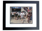 Skip Holtz Signed - Autographed USF Bulls 8x10 inch Photo BLACK CUSTOM FRAME - Guaranteed to pass PSA or JSA