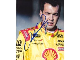 Sam Hornish Jr Signed - Autographed 8x10 inch Photo - Guaranteed to pass PSA or JSA - Indy 500 Champion