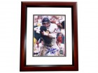 Stan Jones Signed - Autographed Chicago Bears 8x10 inch Photo MAHOGANY CUSTOM FRAME - Guaranteed to pass PSA or JSA