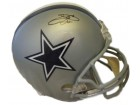 Emmitt Smith Autographed Dallas Cowboys Full Size Replica Helmet (Name Only) JSA