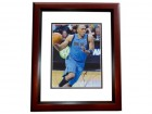 Shawn Marion Signed - Autographed Dallas Mavericks 8x10 inch Photo MAHOGANY CUSTOM FRAME - Guaranteed to pass PSA or JSA - 2011 NBA Champions