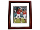 Stephen Morris Signed - Autographed Miami Hurricanes 8x10 inch Photo MAHOGANY CUSTOM FRAME - Guaranteed to pass PSA or JSA