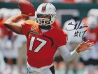 Stephen Morris Signed - Autographed Miami Hurricanes 8x10 inch Photo - Guaranteed to pass PSA or JSA