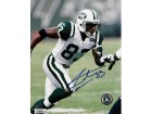 Santana Moss Signed - Autographed New York Jets 8x10 inch Photo - Guaranteed to pass PSA or JSA
