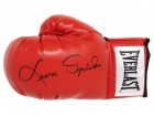 Leon Spinks Signed Everlast Red Boxing Glove (JSA)