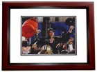 Sean Payton Signed - Autographed New Orleans Saints 8x10 inch Photo MAHOGANY CUSTOM FRAME with PSA/DNA Authenticity - Super Bowl XLIV Champion