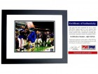 Steve Spurrier Signed - Autographed Florida Gators UF 8x10 inch Photo BLACK CUSTOM FRAME - 1996 National Championship Gatorade Dunk - PSA/DNA Certificate of Authenticity (COA)